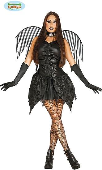 Disfraz de hada oscura angel negro: Amazon.es: Juguetes y juegos