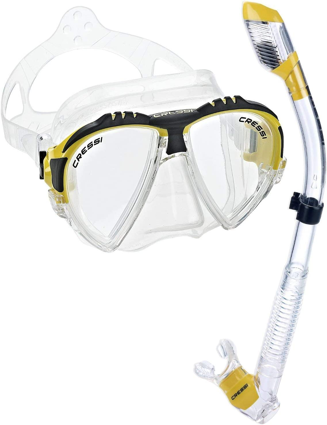 Clear//Yellow Cressi Matrix /& Supernova Dry