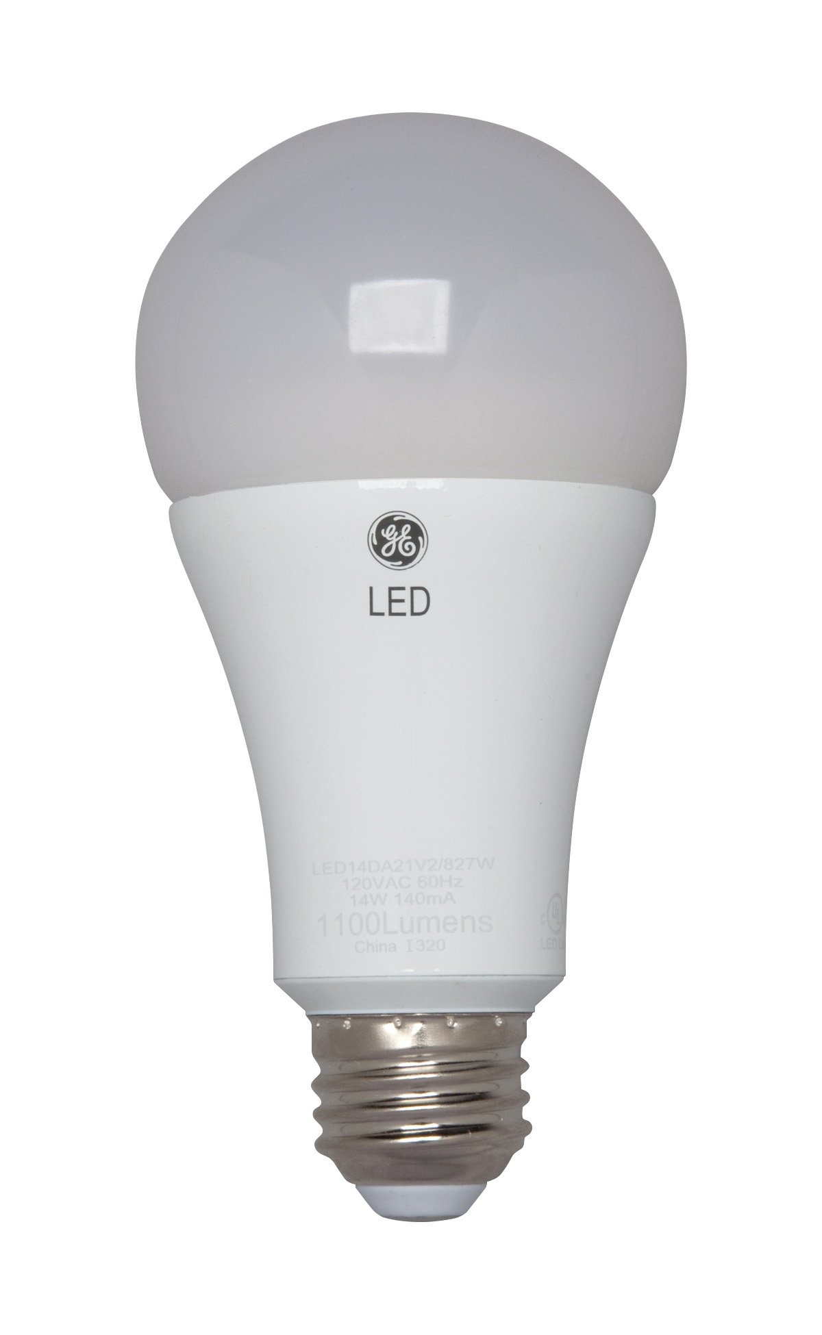 GE Lighting 92117 3-Way LED 30/70/100-watt replacement A21 Bulb with Medium Base, Soft White, 1-Pack