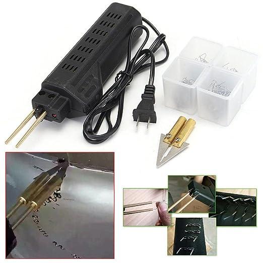 perg Transferencia Car Bumper Fender verkleidung soldar Herramientas Kit de reparación de plástico con 200 grapas: Amazon.es: Electrónica