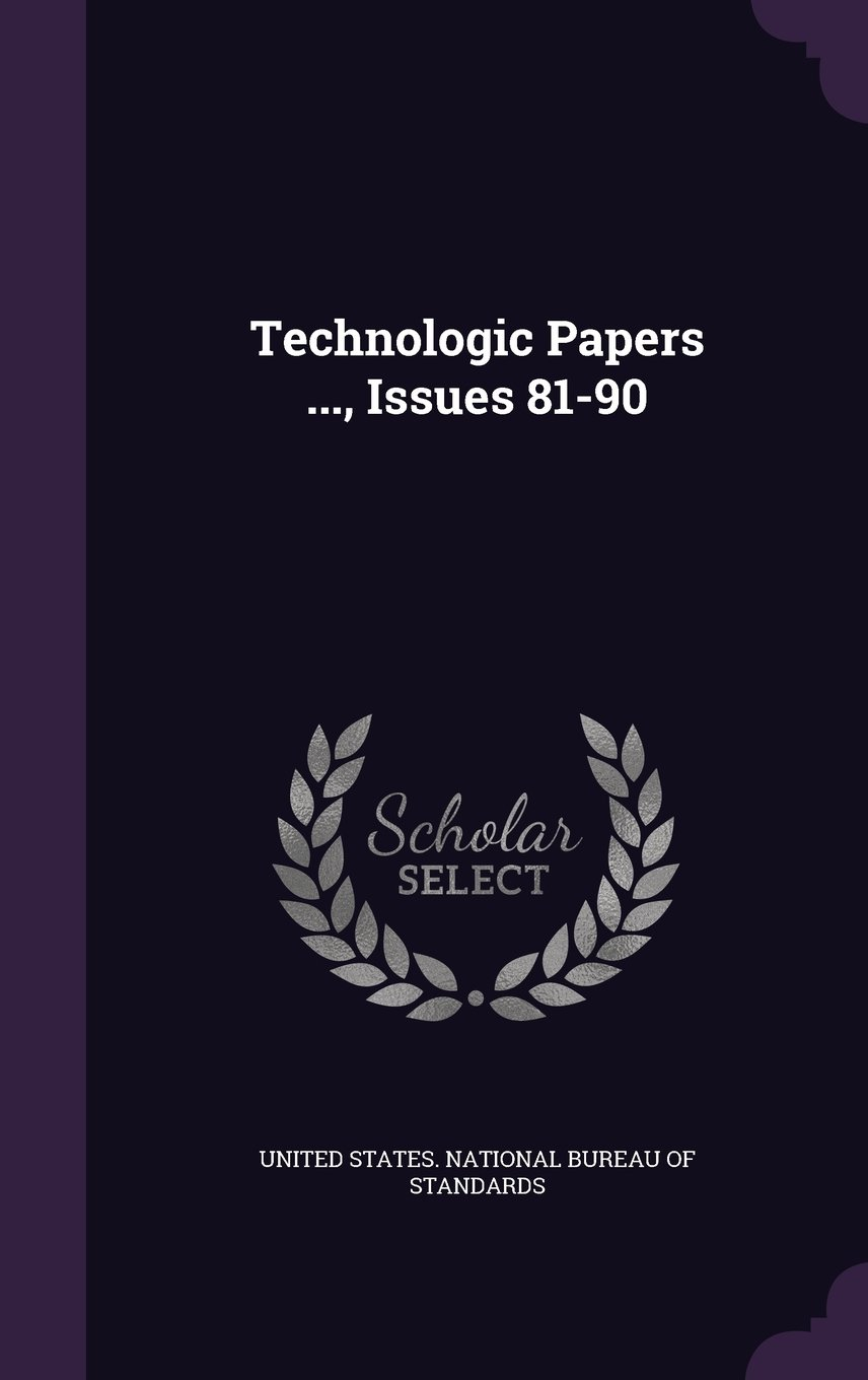 Download Technologic Papers ..., Issues 81-90 pdf