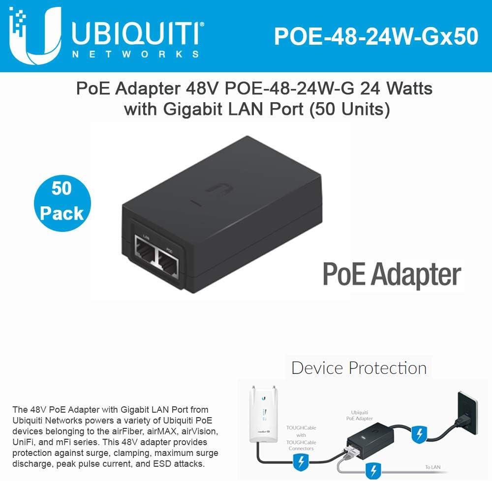 Ubiquiti Networks POE-24-AF5X Gigabit Ethernet 24V Adattatore PoE-POE-24-AF5X