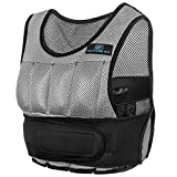Short Weight Vest For Training – Weighted Vest – Weighted Training Vest – Weighted Workout Vest (Gray, 10 lb) – Adjustable Weighted Running Vest For Men or Women Review