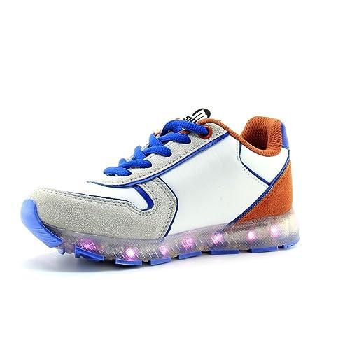 Deportivas mustang Luces led para niño: Amazon.es: Zapatos y complementos