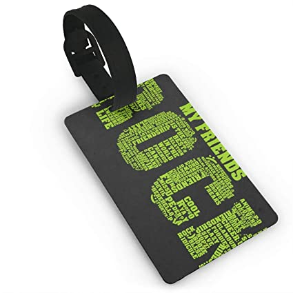 Amazon com   Luggage Tags With Hand Strap Durable My Friend
