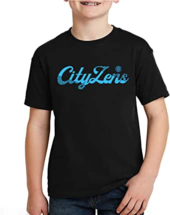 kharbashat Manchester City F.C. T-Shirt for Boys, Size 36 EU
