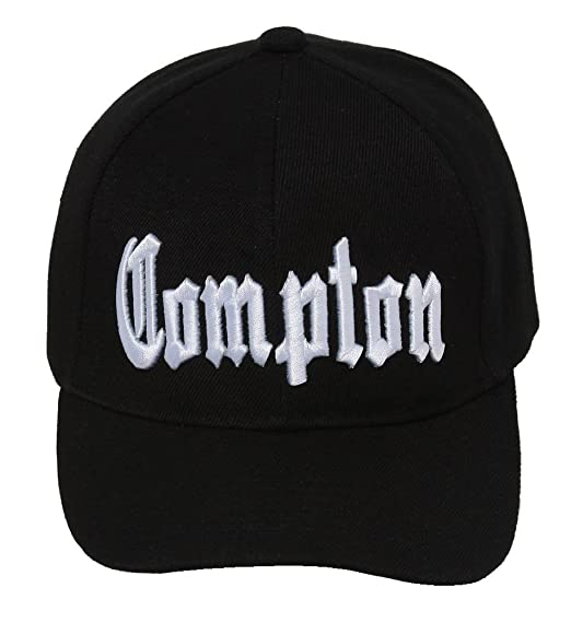 b0a9847d Amazon.com: City Compton Easy E Hat Cap - Black: Clothing