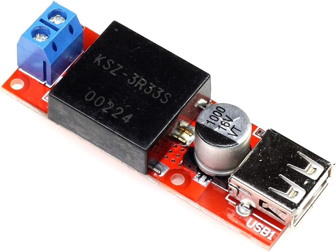 5v 3a Dc Dc Wandler Mit Usb Port 7 24v Elektronik