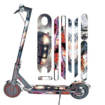 Maayun para Xiaomi Mijia M365 Scooter eléctrico Todo el Cuerpo Pegatinas Cinta Paster Antideslizante