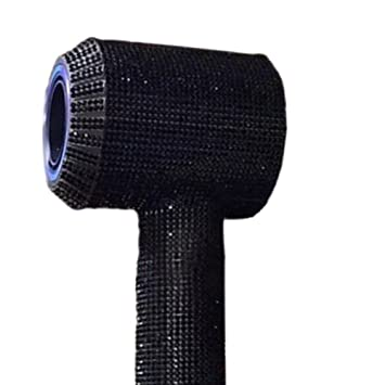 Amazon.com: Xinvision (Black)Diamond Sticker for 【Dyson Supersonic】 Hair Dryer,Glitter Bling Blink Protector Skin Body Wrap Film Sticker: Beauty