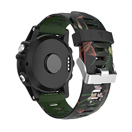 Garmin Fenix 3/Fenix 5 x Reloj Banda, Yayuu Suave Silicona Reloj Accesorio Correa