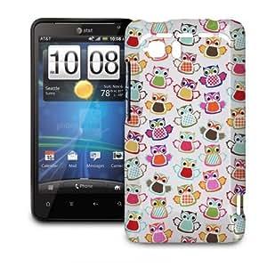 Phone Case For HTC Vivid - Cute Owls Protective Premium wangjiang maoyi