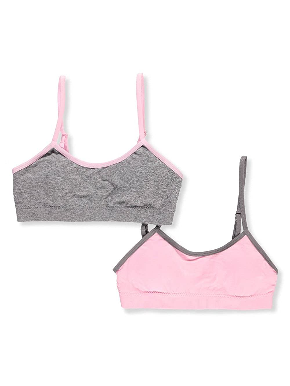 Marilyn Taylor Girls' 2-Pack Seamless Bras