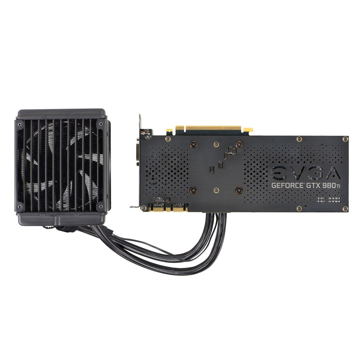 EVGA GeForce GTX 980 Ti 6GB HYBRID GAMING, ''All in One'' No Hassle Water Cooling, Just Plug and Play Graphics Card 06G-P4-1996-KR by EVGA (Image #7)