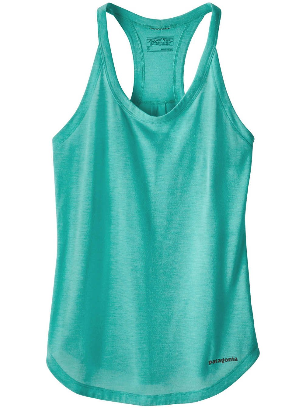 Patagonia Nine Trails Tank Top, Damen Damen L blau (strait blue) 23496