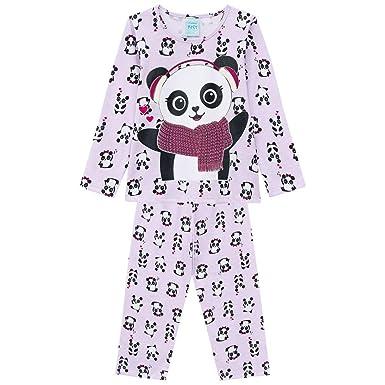 3edf525d1 Pijama Infantil Feminino Blusa + Calça Kyly 206786.5510.1  Amazon ...