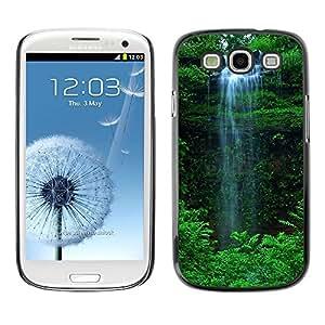 Be Good Phone Accessory // Dura Cáscara cubierta Protectora Caso Carcasa Funda de Protección para Samsung Galaxy S3 I9300 // Waterfall Green
