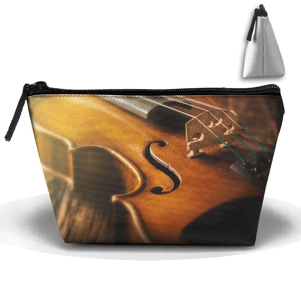 rptmub Stradivarius violín caso accesorios bolsa de almacenamiento portátil Organizador Bolsa de cosméticos neceser práctica bolsa de viaje para maquillaje ...