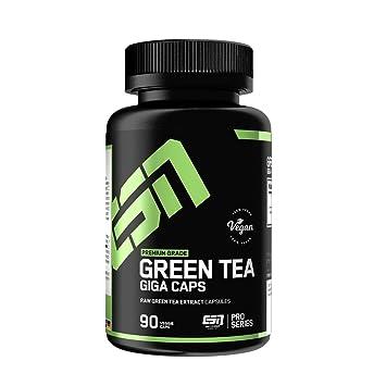 Esn Green Tea Giga Caps Standard - 90 Cápsulas: Amazon.es: Salud y ...