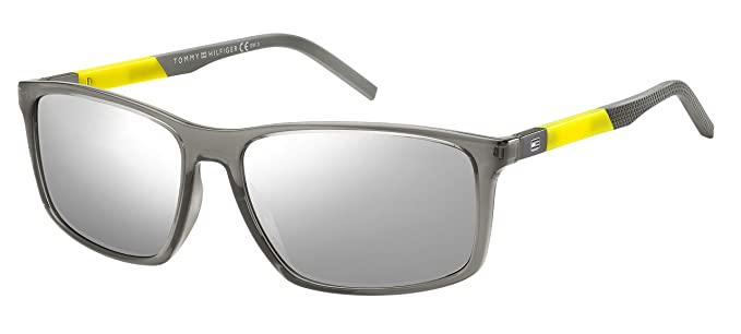 Tommy Hilfiger TH 1650/S Gafas de sol, Multicolor (Grey), 59 ...