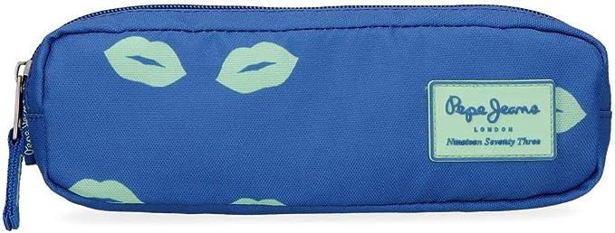 Estuche Pepe Jeans Ruth, Azul, 22x7x3 cm: Amazon.es: Equipaje