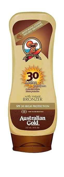45 opinioni per australian gold spf 30 crema upside-down + bronzer 237 ml