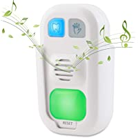 HONWELL Musical Timer for Kids Battery Powered 2 Minute Toothbrush Timer and 20 Seconds Bathroom Hand Wash Timer with LED Color Light, 3 Volume Options Musical Timer for Children Training Coach