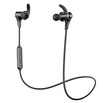 Nuevo Versión Q12 HD】 SoundPEATS Auriculares Bluetooth 5.0 ...