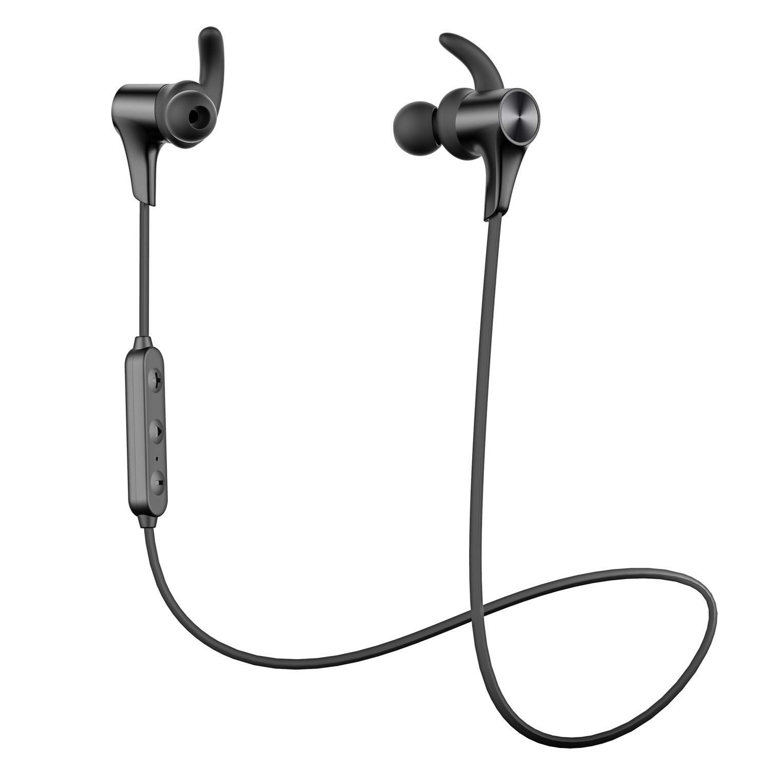 SoundPEATS Q12 HD Bluetooth 5.0 Headphones Wireless Headphones IPX6 Waterproof APTX-HD Stereo Sport In-Ear Earbuds CVC 8.0 Noise Cancelling Mic Bluetooth Earphones