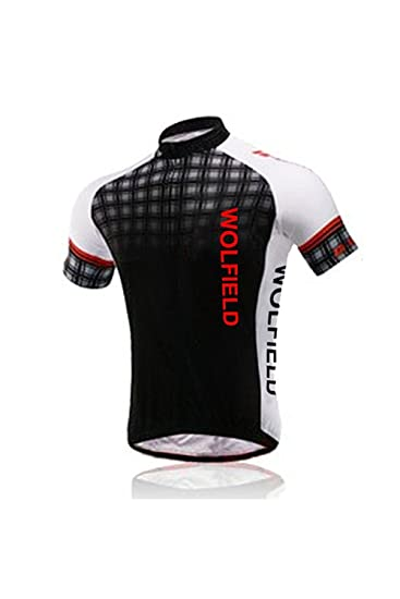 356e433c7 Wolfbike Men Cycling Bicycle Bike Outdoor Jersey Shirt + Shorts Breathable  Ridin