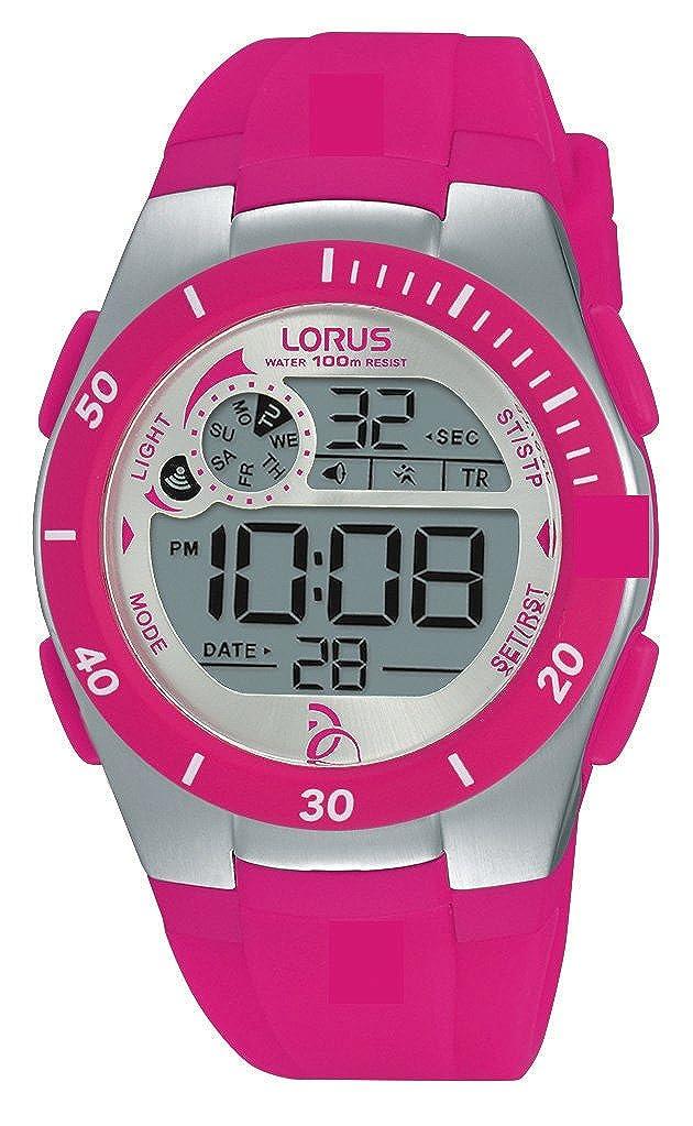 Lorus Watches R2383KX9 Reloj Unisex de Pulsera Novak Djokovic Foundation, Digital, Mecanismo de Cuarzo, Correa de Caucho