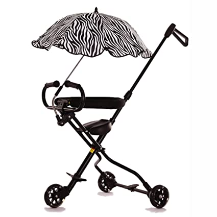 3680c9d8779 Tricycles 3 Wheels Baby Stroll Artifact With Umbrella Children Trolley  Folding Lightweight Portable Tourism Kids Trike