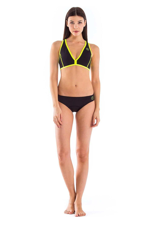 glidesoul Damen 0,5mm Yoga Bikini
