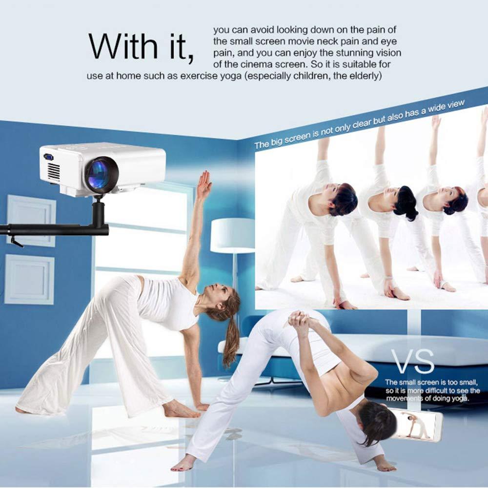 St.mary Proyector, Mini proyector portátil, proyector de ...