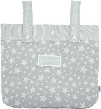 Oferta amazon: Cambrass Star - Bolso maternal panadera para carro bebe, color gris