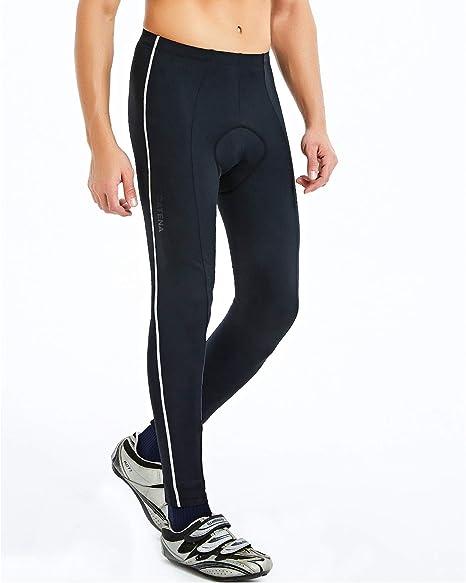 Catena Hombre Pantalones de Ciclismo Térmico Pantalon Acolchado ...