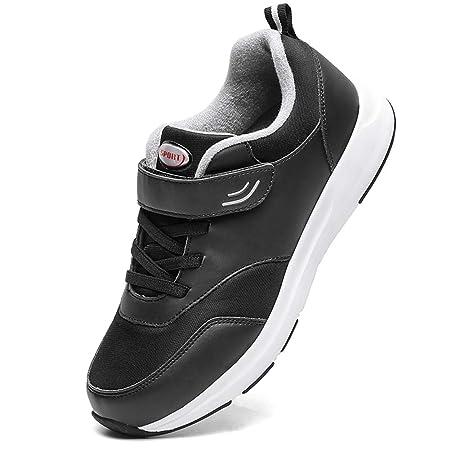 CXQWAN Scarpe Sportive per Anziani, Scarpe da Ginnastica Regolabili Scarpe da Passeggio per Anziani Sicurezza Antiscivolo Resistente all'Usura per