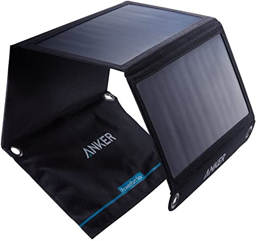 Anker 21W Portable Solar Charger with Foldable Panel
