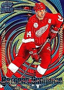 (CI) Brendan Shanahan Hockey Card 1997-98 Revolution Ice Blue 51 Brendan Shanahan