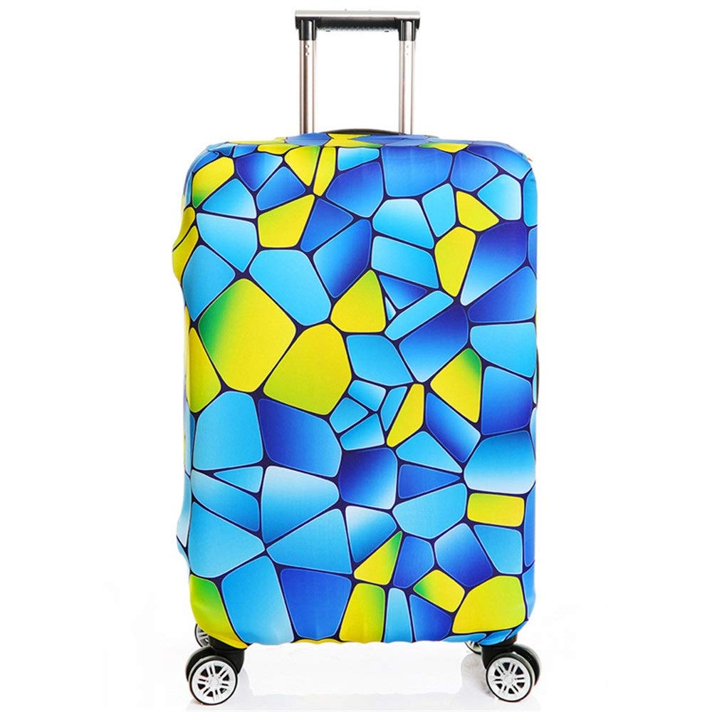 18-21 Yuybei-Bag Luggage Cover 18 to 32 Inch Travel Luggage Protector Elastic Baggage Covers for Carry On Four to Fit Luggage Travel Luggage Sleeve Protector Color : D, Size : S