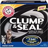Arm & Hammer Clump & Seal Litter, Fresh Home, 19 Lbs