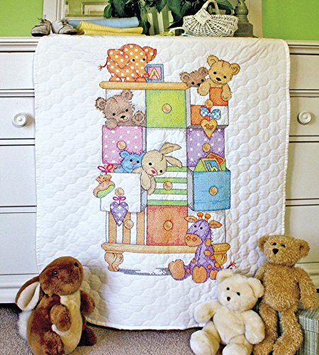 (Dimensions Baby Hugs Quilt Kit Baby Drawers)