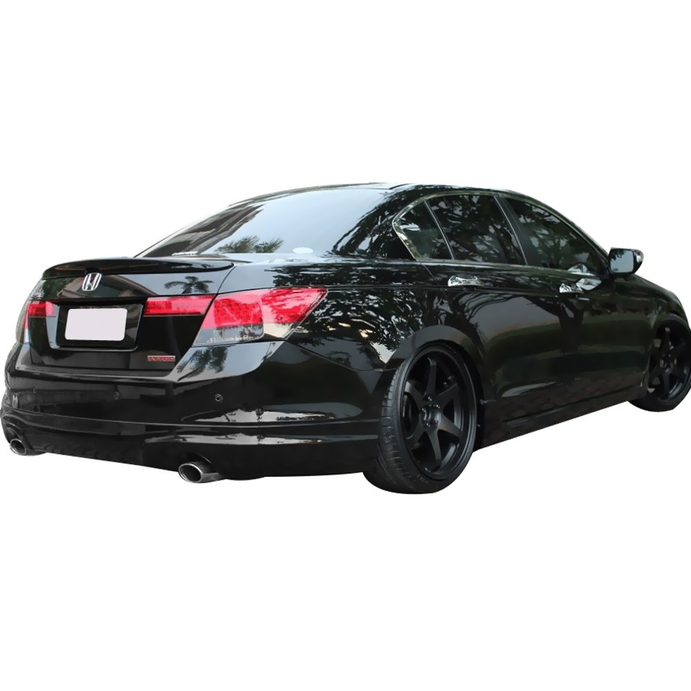 Factory Style Painted #NH700M Alabaster Silver Metallic ABS Rear Tail Lip Deck Boot Wing other color available by IKON MOTORSPORTS Pre-painted Trunk Spoiler Fits 2008-2012 Honda Accord 2009 2010 2011