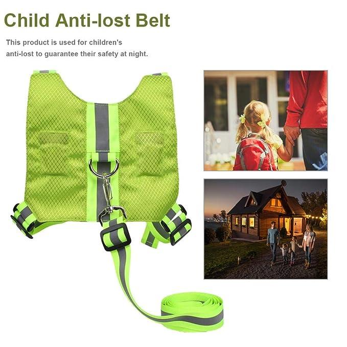 Destinely Bebé Anti-Lost Cinturón Arnés de Seguridad, Ajustable ...