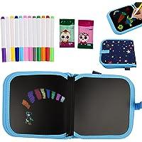 ZoneYan Doodle Pad, 14 pagina's graffiti, herbruikbaar kleurboek, draagbaar kinderkleurboek, innovatief bord, kleurboek…