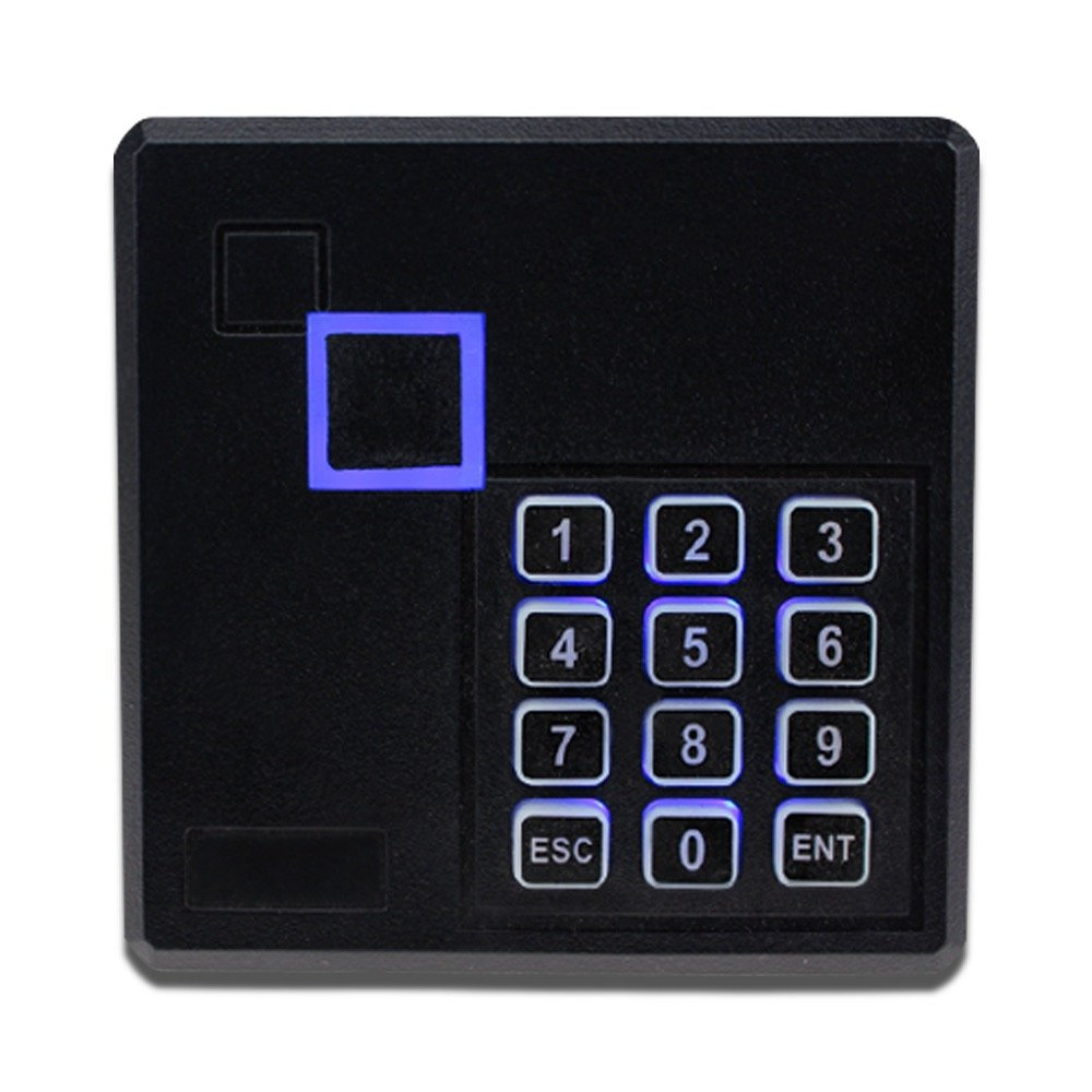103 IC LIBO IP65 Waterproof RFID Reader Access Control Card Reader 13.56MHz Smart Card Keypad Lock with LED for Door Security System
