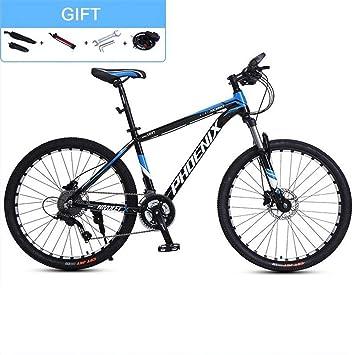 JLASD Bicicleta Montaña Bicicleta De Montaña, 26 Pulgadas Hombres ...
