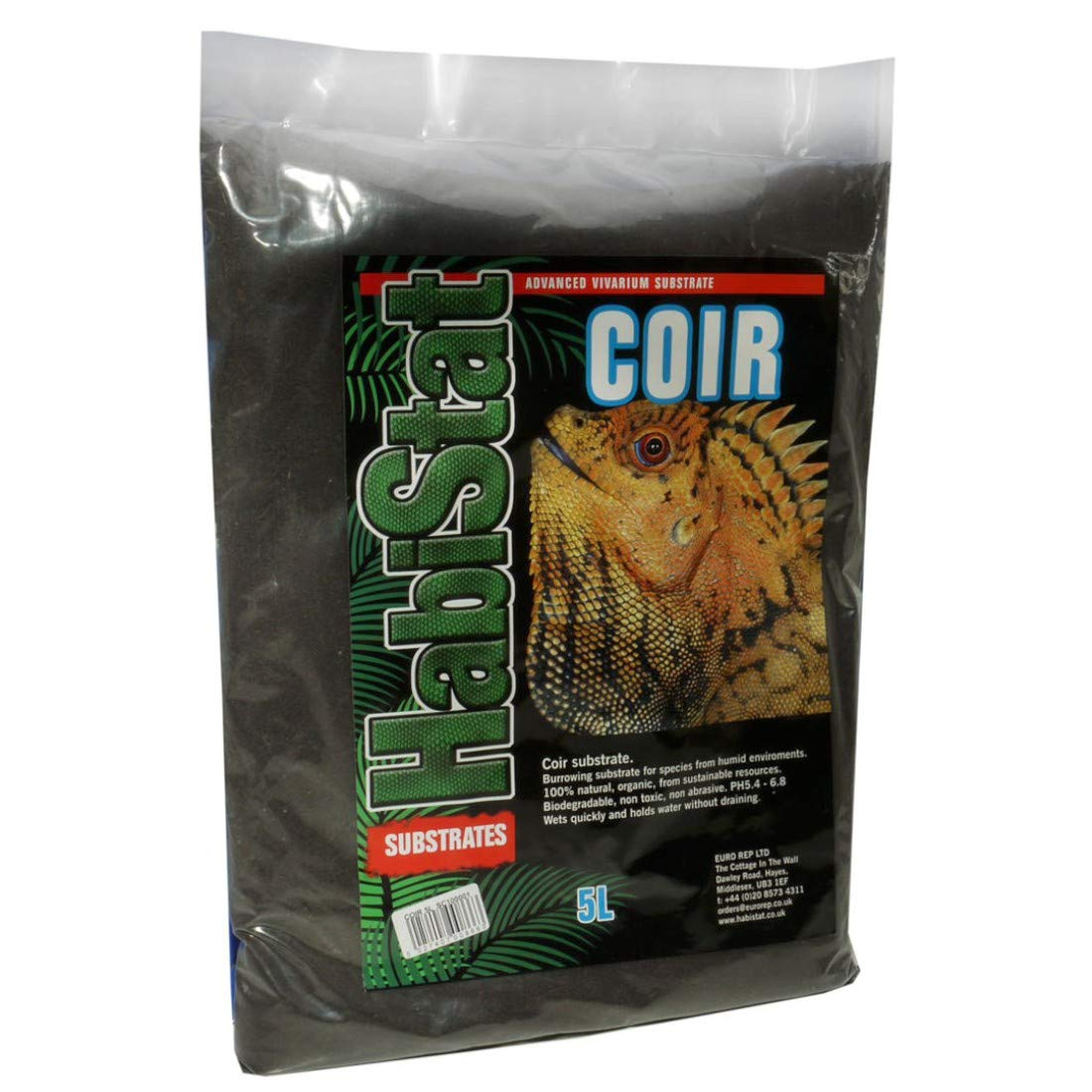 HabiStat  Coir Substrate  5 Litres : Amazon co uk: Kitchen