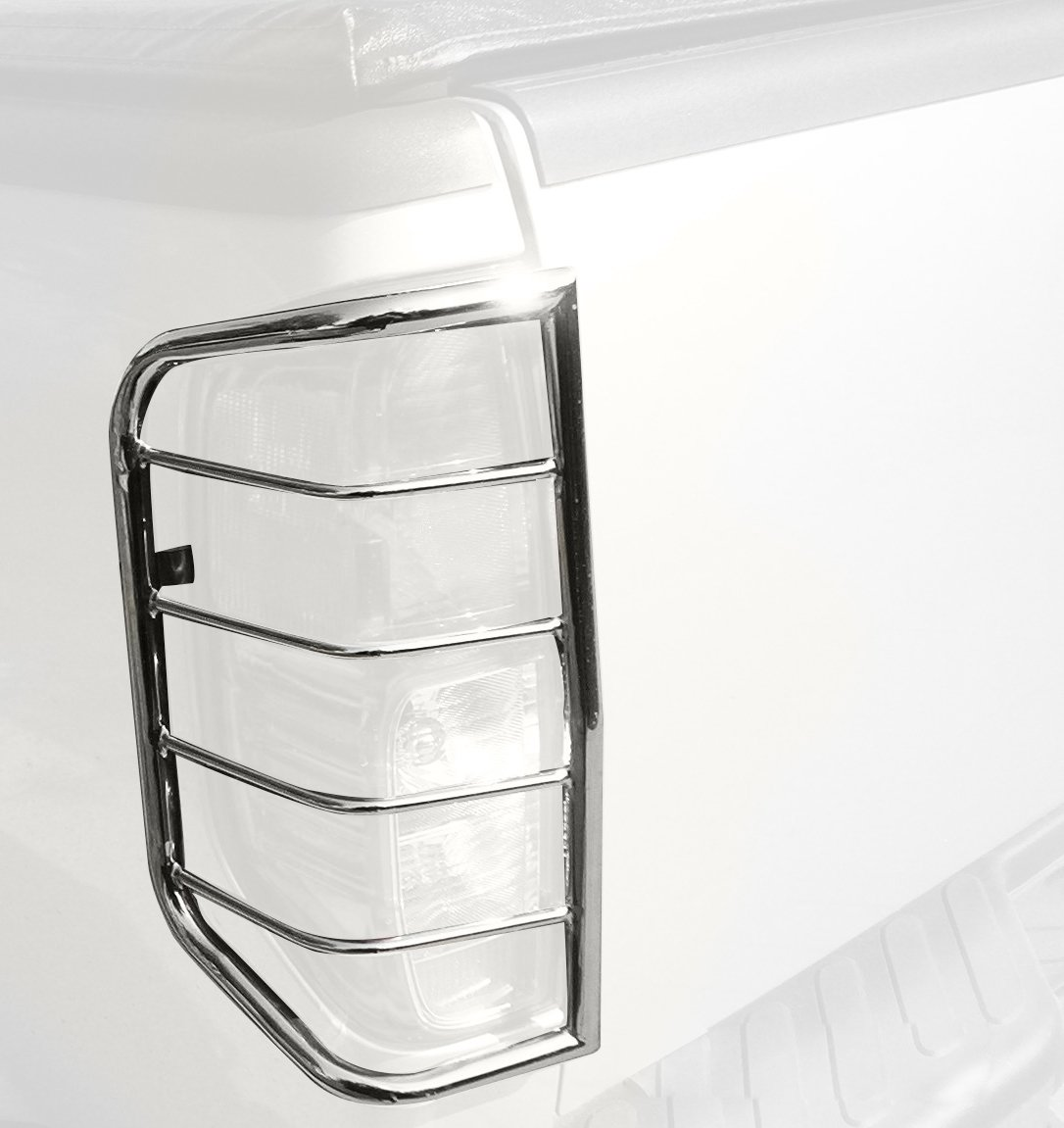 BLACK HORSE 7NIFRSS Stainless Steel Tail Light Guards