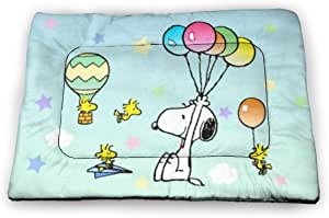Amazon.com : Ultra Soft Pet Bed Mat-Flying Snoopy Anti ...